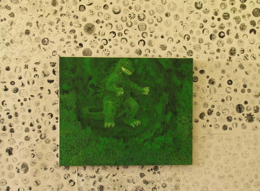 緑のゴジラ