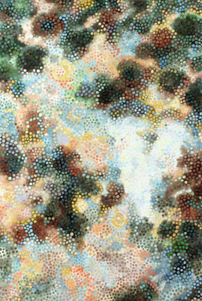3-1『若冲の白いオウムの千の目」11