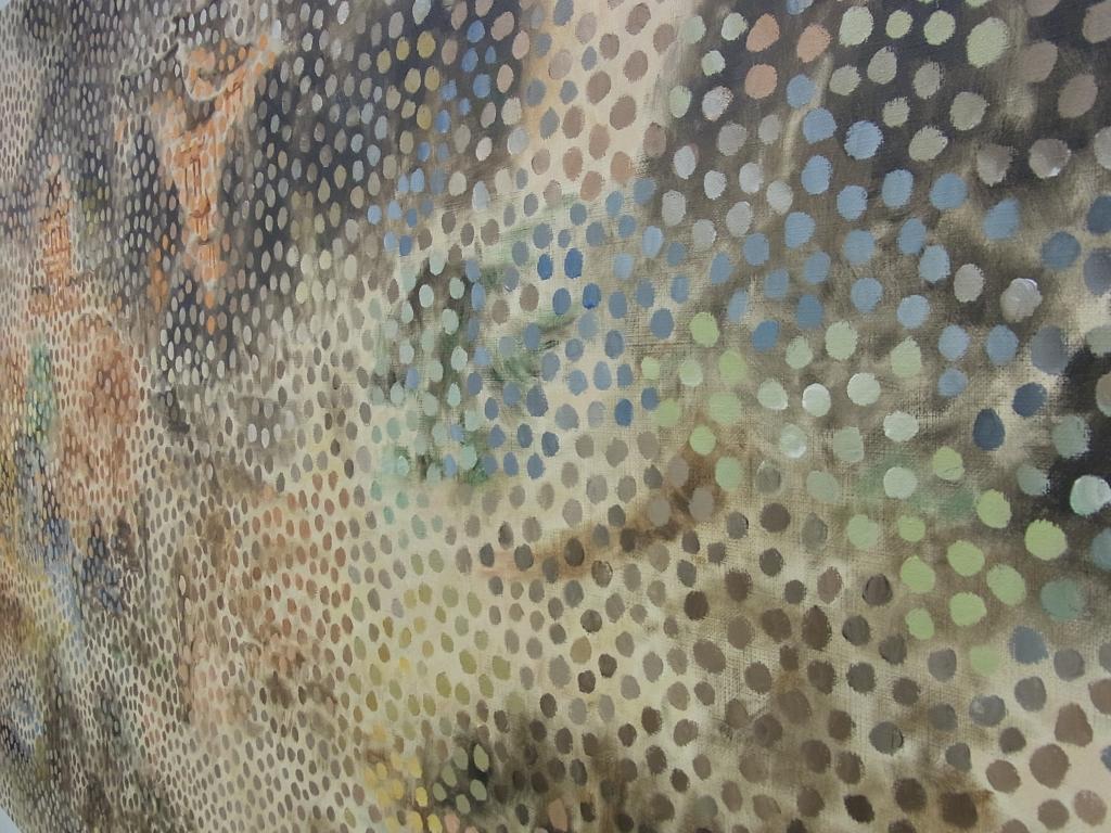 「放庵の風景習作と点」2012(斜めから)